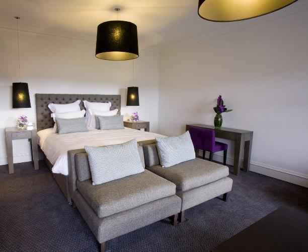 Спальня в Blythswood Square отеле в Глазго, photo telegraph.co.uk