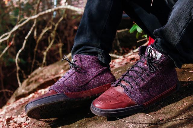 Nike и Harris Tweed