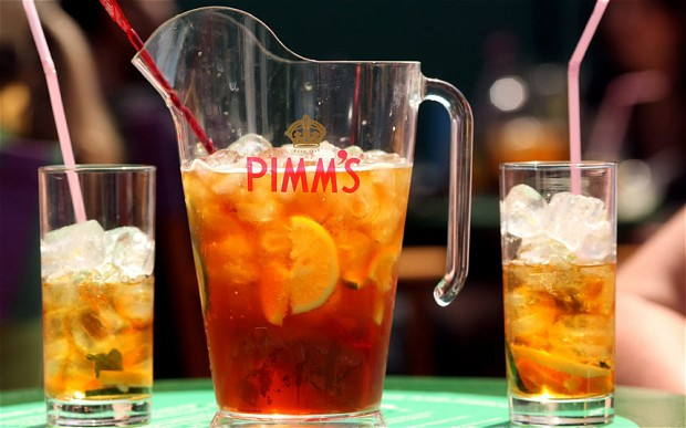 Pimm's, photo www.telegraph.co.uk