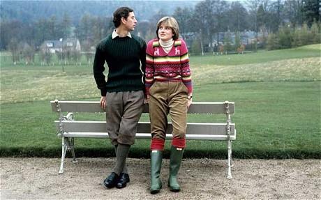 Принц Уэльский и Леди Диана в Hunter Original