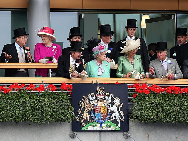 Royal Ascot 2013 Королева Елизавета