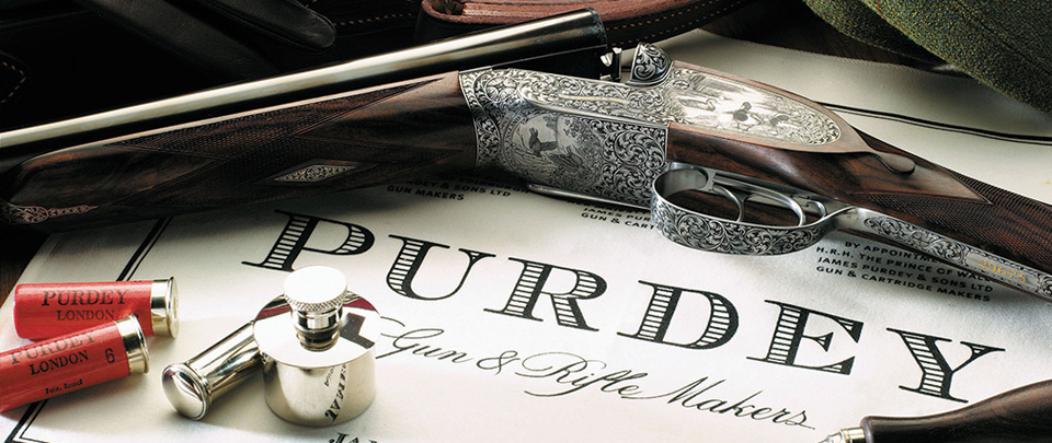 Purdey shooting