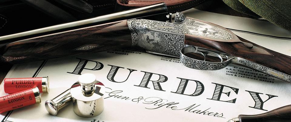 Purdey shooting