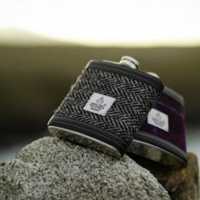 Фляжка Harris Tweed – идеальный подарок для мужчины